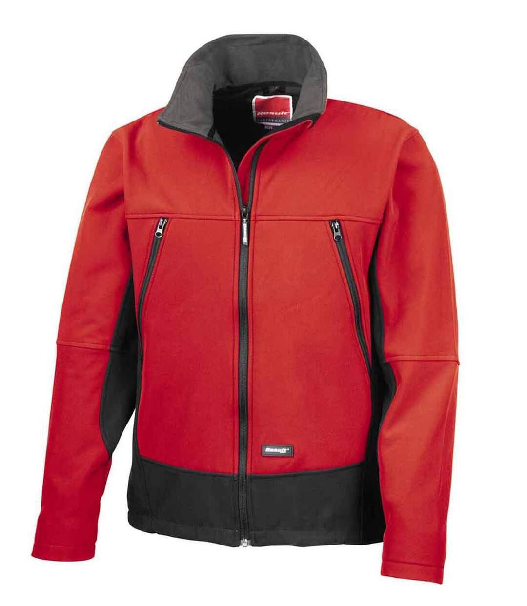 Veste softshell sport unisexe - R120X - rouge