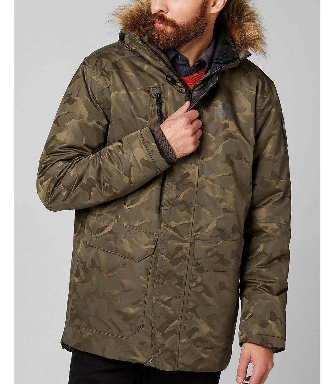 Parka SVALBARD Camouflage pour homme