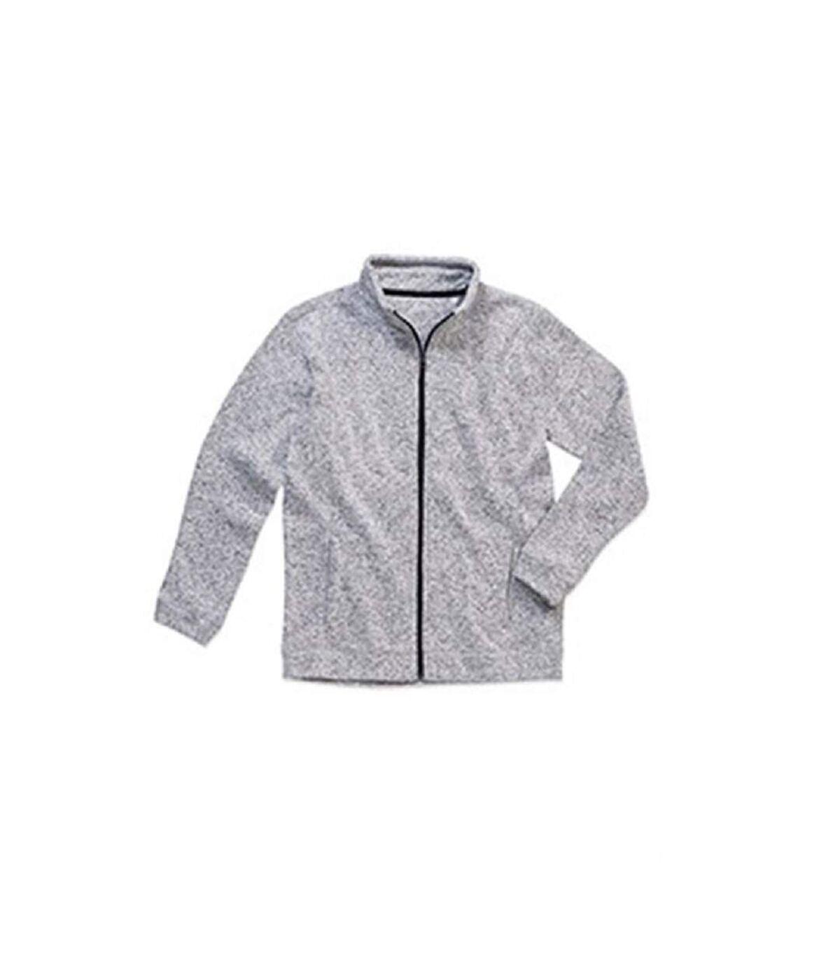 Stedman - Polaire tricotée  ACTIVE - Homme (Gris clair chiné) - UTAB328