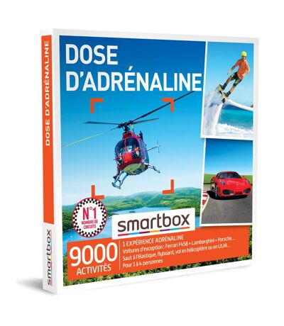 SMARTBOX - Dose d'adrénaline - Coffret Cadeau Sport & Aventure