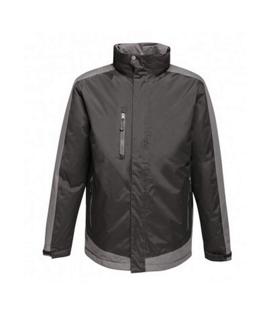 Regatta Mens Contrast Insulated Jacket (Seal Grey/Black) - UTPC3315
