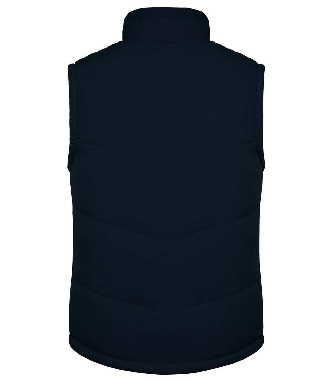 Veste sans manches doublée polaire - K6118 - bleu marine