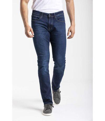 Jeans RL80 stretch coupe droite ajustée brossé SANCHOS denim
