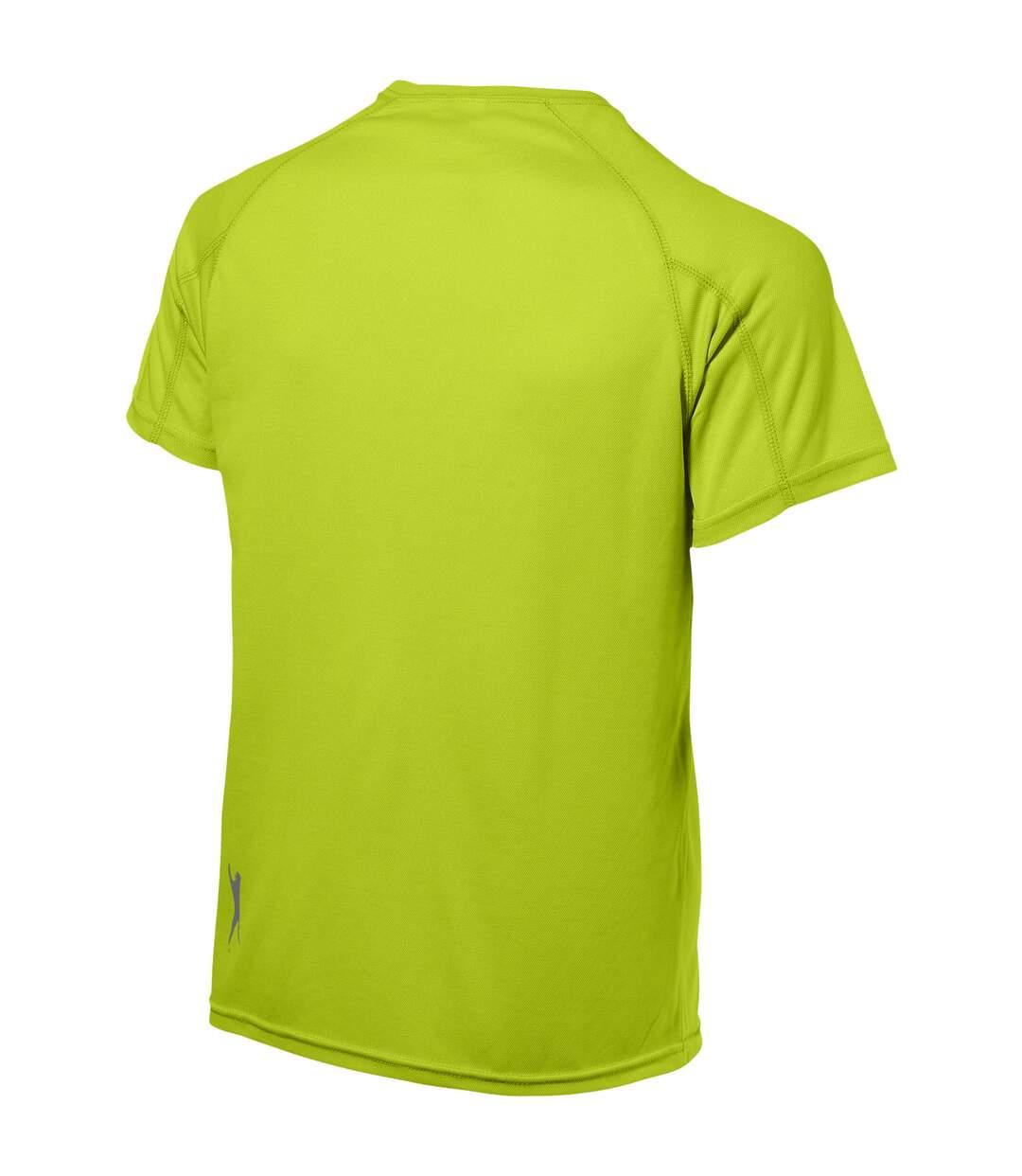 Slazenger Mens Serve Short Sleeve T-Shirt (Apple Green) - UTPF1730