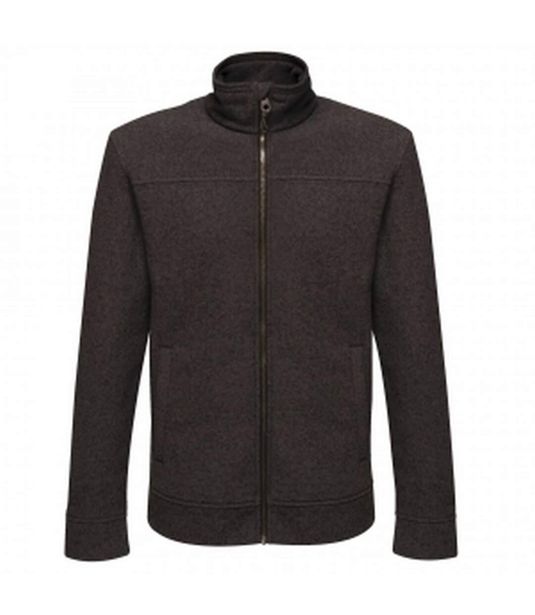 Regatta Mens Parkline Full Zip Fleece Jacket (Black) - UTRG3569