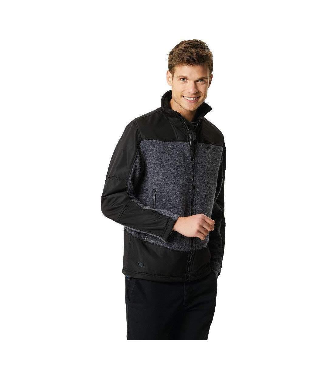 Regatta Mens Zorian Full Zip Jacket (Navy/Navy) - UTRG3642