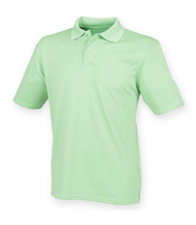 Henbury - Polo à manches courtes - Homme (Vert citron) - UTRW635