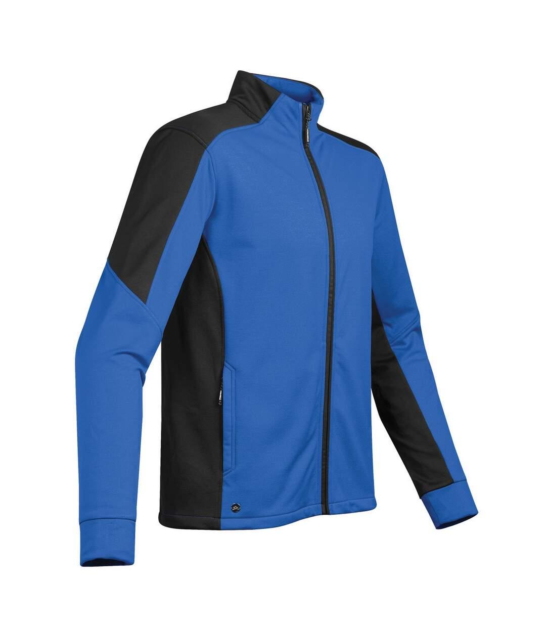 Stormtech Mens Chakra Fleece Jacket (Azure/Black) - UTBC3880