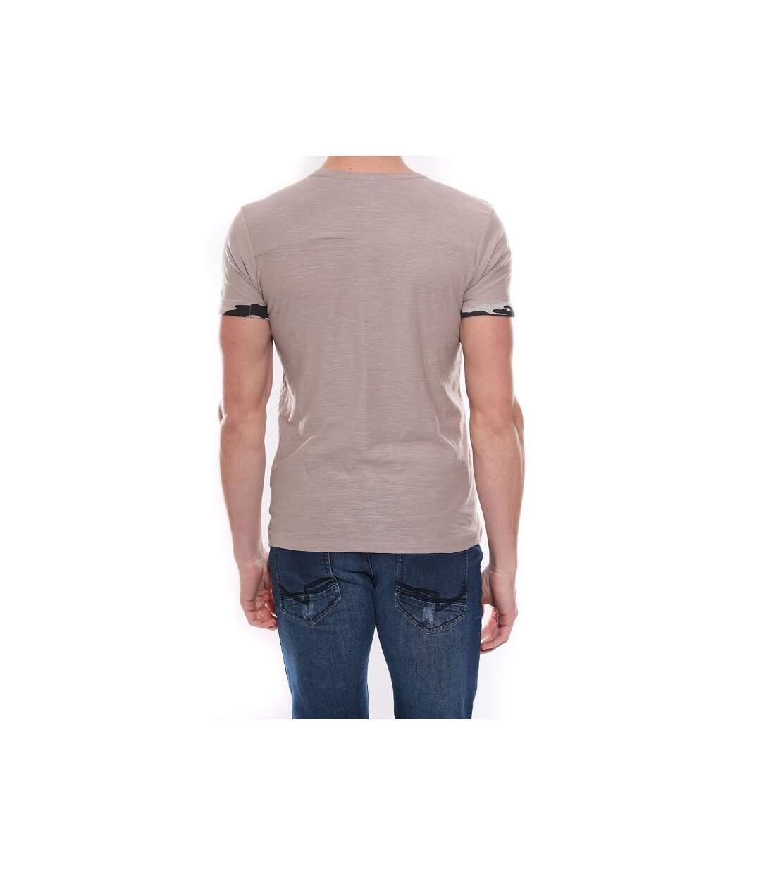 T-shirt col rond en coton NICK - RITCHIE
