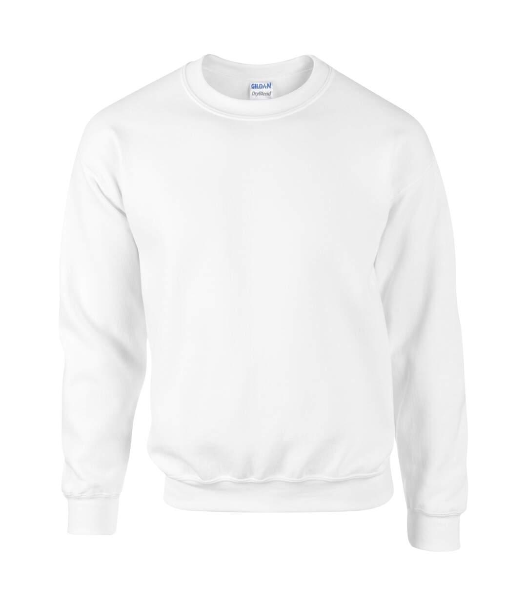 Gildan DryBlend Adult Set-In Crew Neck Sweatshirt (13 Colours) (Red) - UTBC459