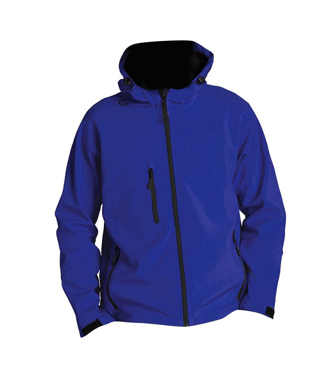 SOLS Mens Replay Hooded Soft Shell Jacket (Breathable, Windproof And Water Resistant) (Royal Blue) - UTPC410