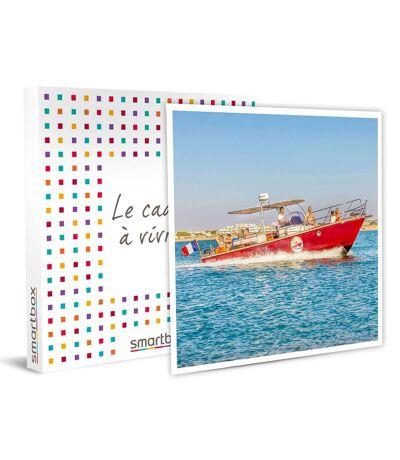 SMARTBOX - Balade en bateau avec repas et vin pour 2 personnes au Grau-du-Roi - Coffret Cadeau Sport & Aventure