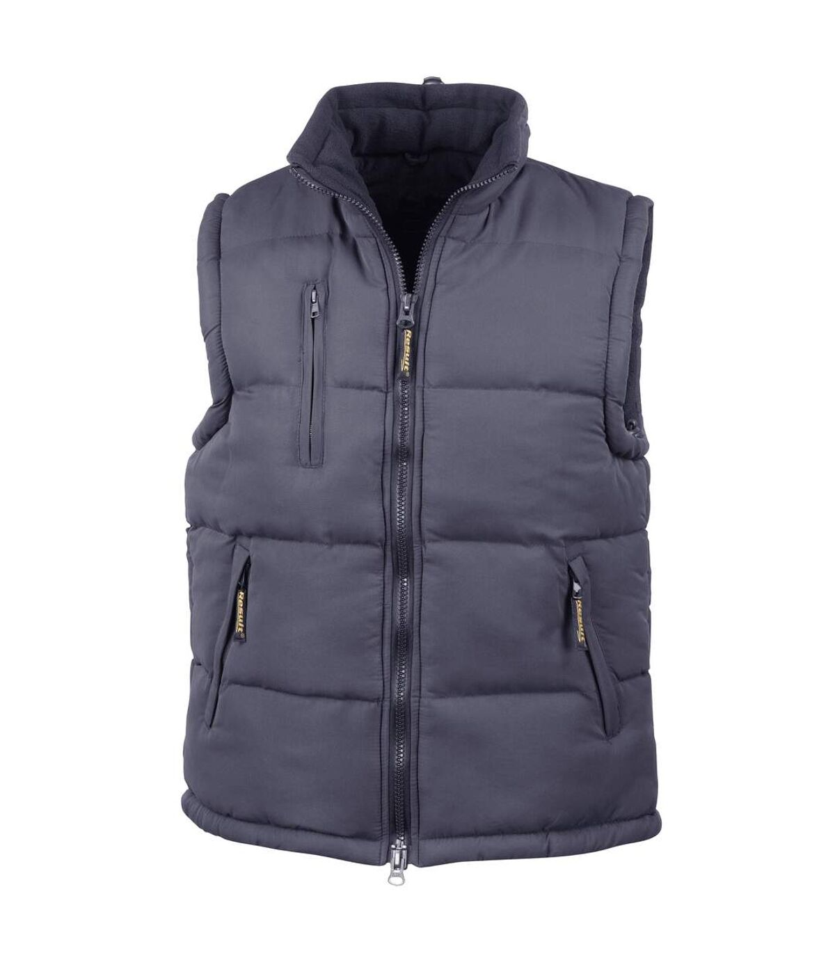 Result Mens Ultra Padded Bodywarmer Water Repellent Windproof Jacket (Navy Blue) - UTBC936
