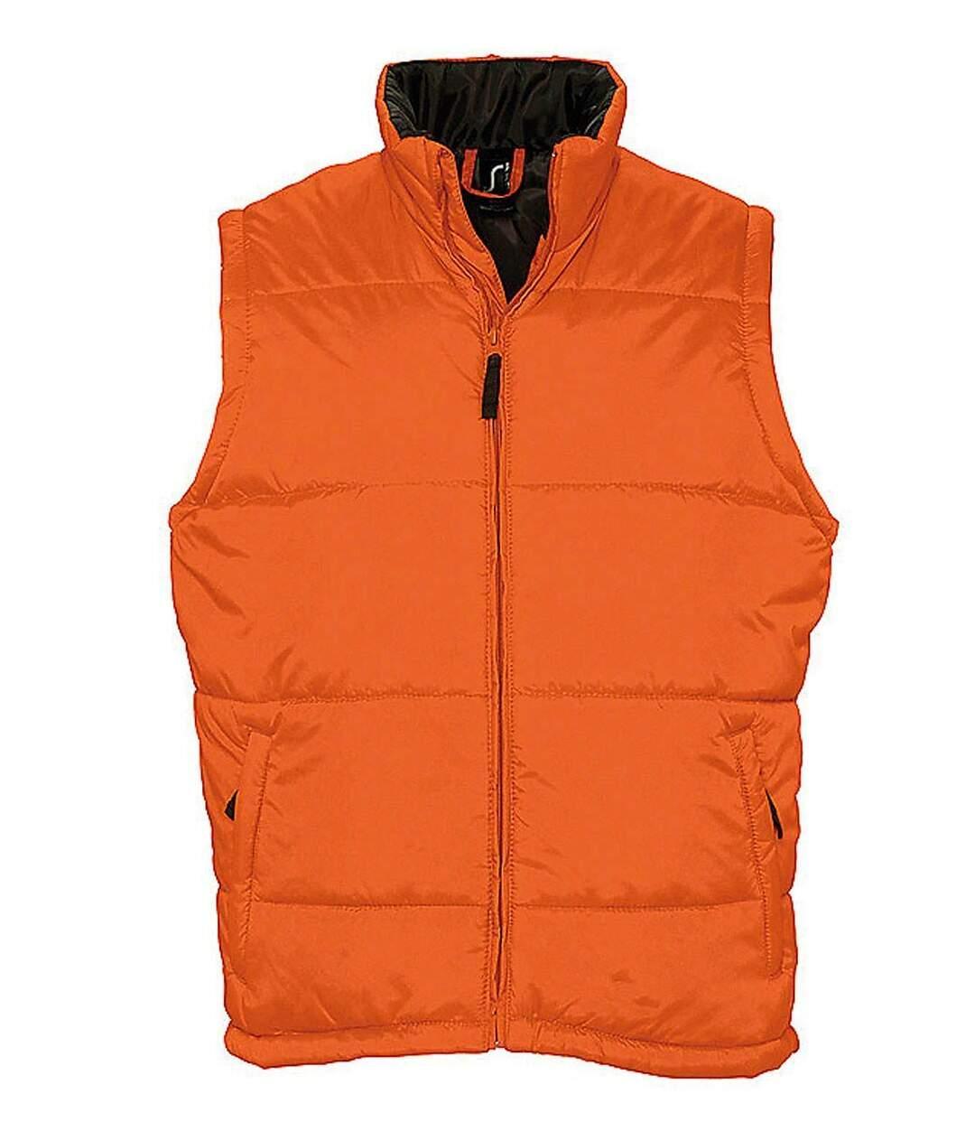 Doudoune veste sans manches matelassée - 44002 - orange