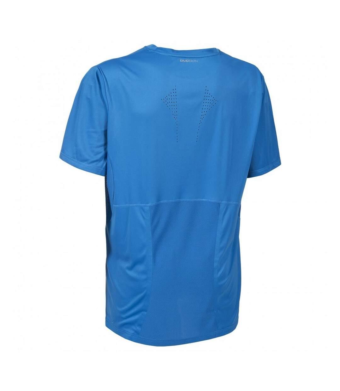 Trespass Mens Uri Short Sleeve Sports T-Shirt (Bright Blue) - UTTP3395