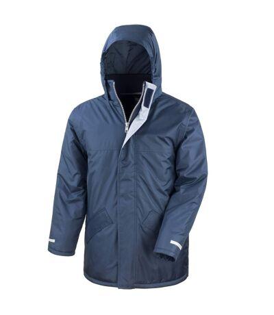 Result Mens Core Winter Parka Waterproof Windproof Jacket (Red) - UTBC901