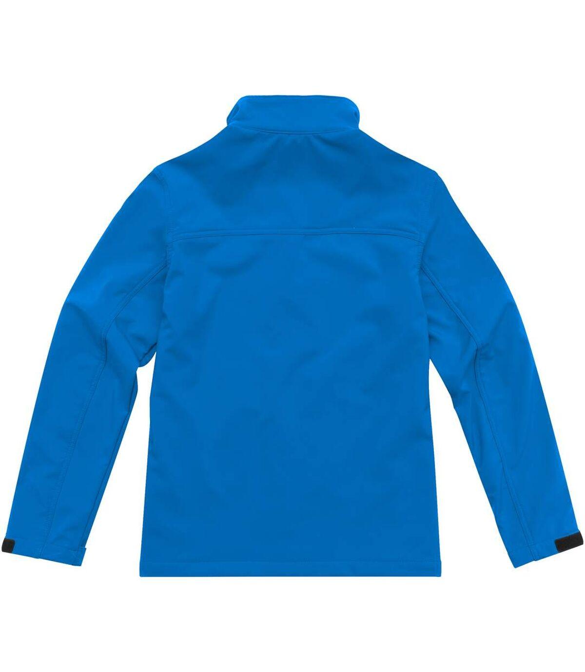Elevate Mens Maxson Softshell Jacket (Solid Black) - UTPF1866