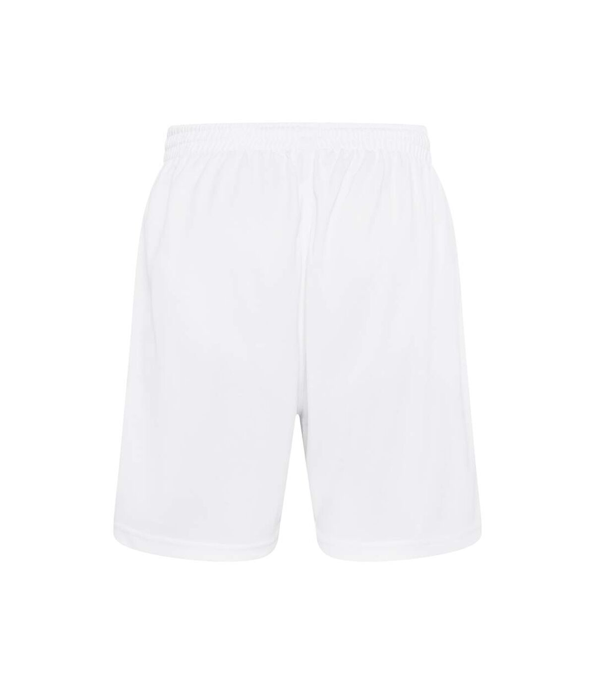 Just Cool Mens Sports Shorts (Arctic White) - UTRW693