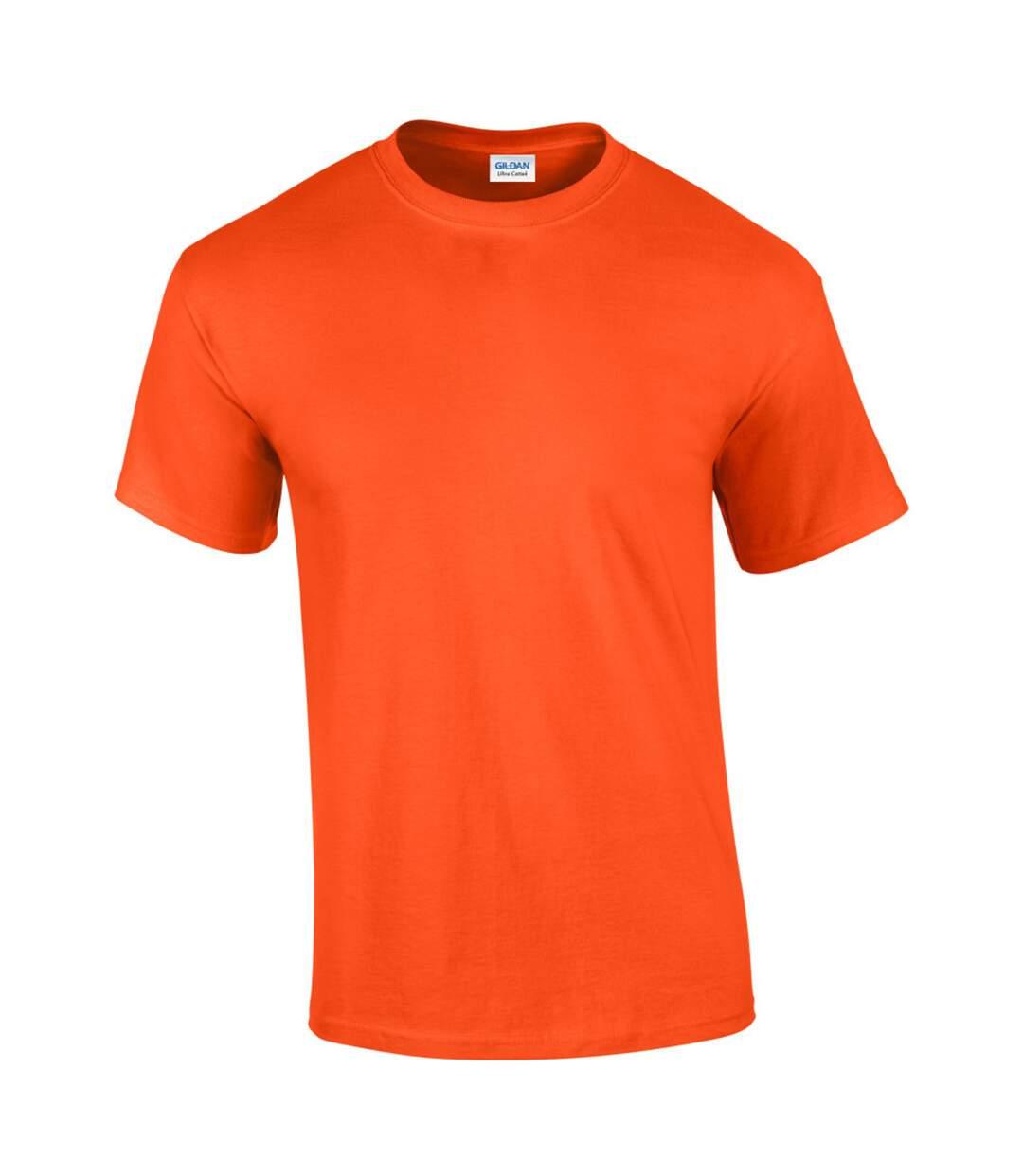 Gildan Mens Ultra Cotton Short Sleeve T-Shirt (Royal) - UTBC475