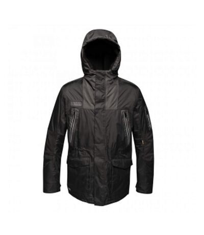 Regatta - Coupe-vent thermique MARTIAL - Homme (Noir / gris) - UTRG3820