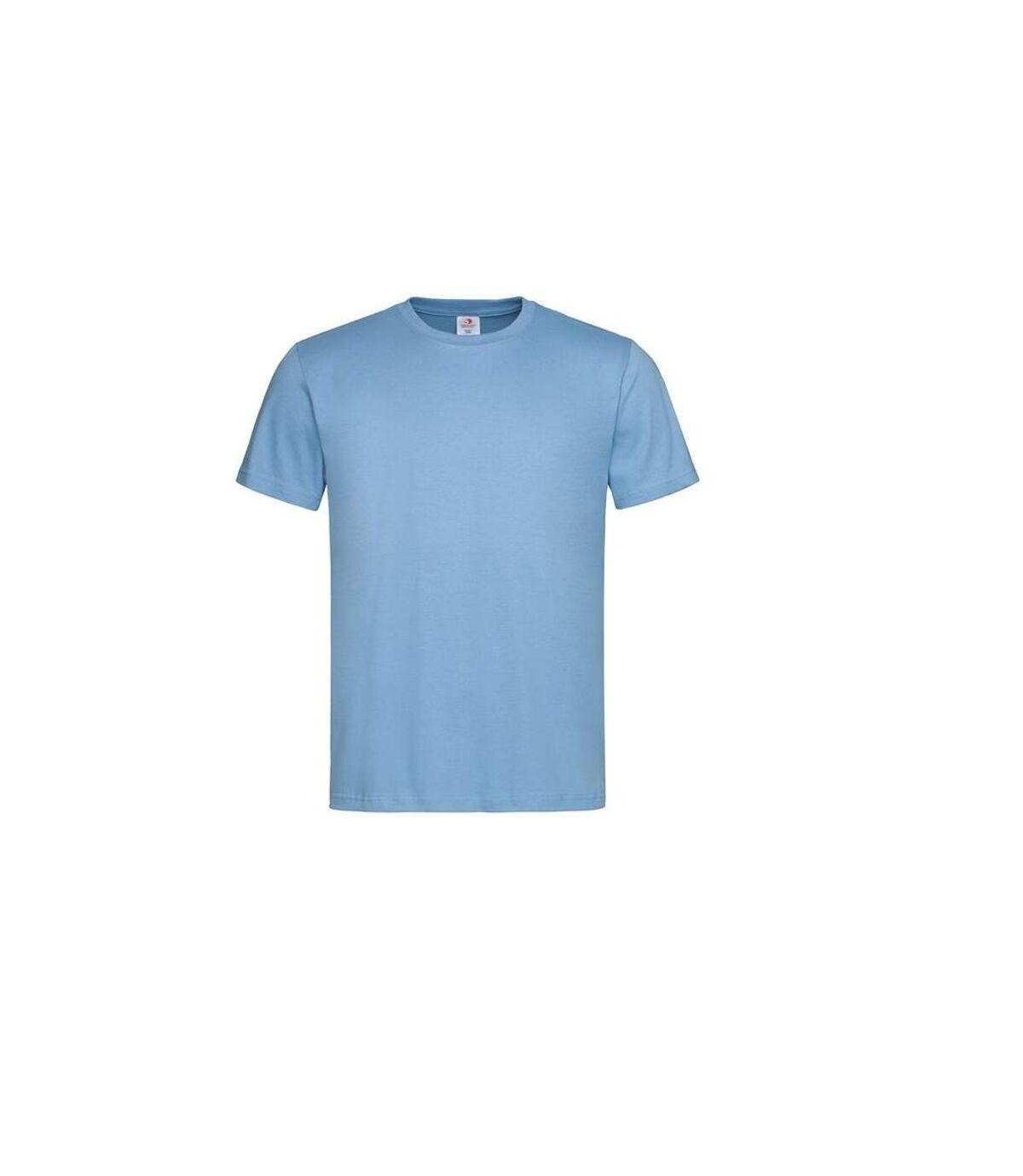 Stedman Mens Classic Tee (Light Blue) - UTAB269