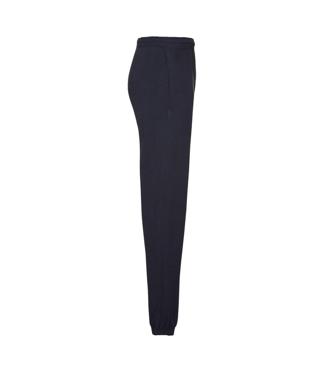 Fruit of the Loom Mens Classic Elasticated Jogging Bottoms (Deep Navy) - UTBC4816