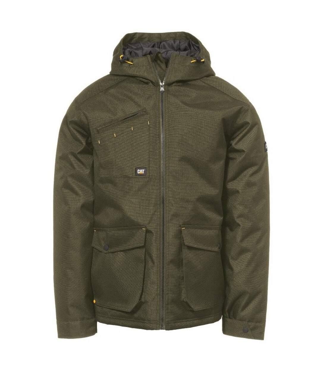 Caterpillar Mens Battleridge Jacket (Army Moss) - UTFS4640