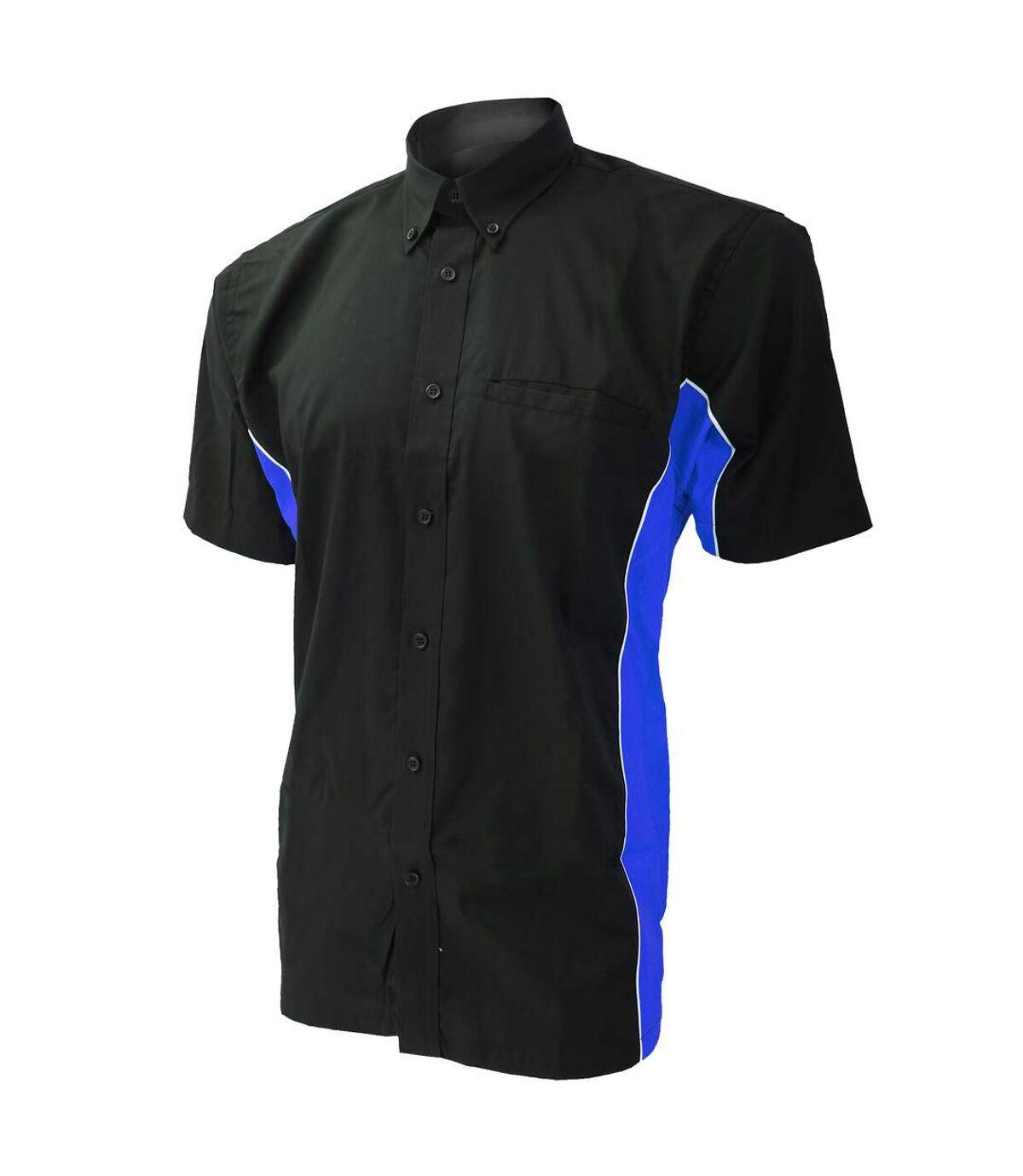 Polo à manches courtes Gamegear® Sportsman pour homme (Noir/Gris argent/Blanc) - UTBC410