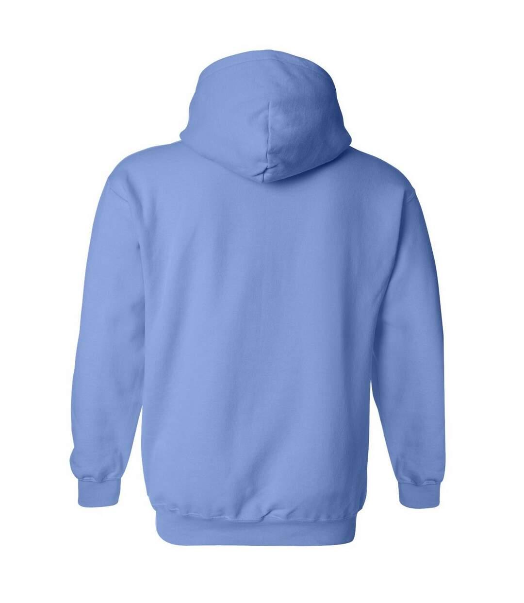 Gildan Heavy Blend Adult Unisex Hooded Sweatshirt / Hoodie (Carolina Blue) - UTBC468