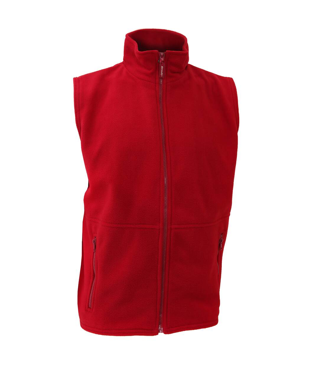 Result Mens Active Anti Pilling Fleece Bodywarmer Jacket (Red) - UTBC923