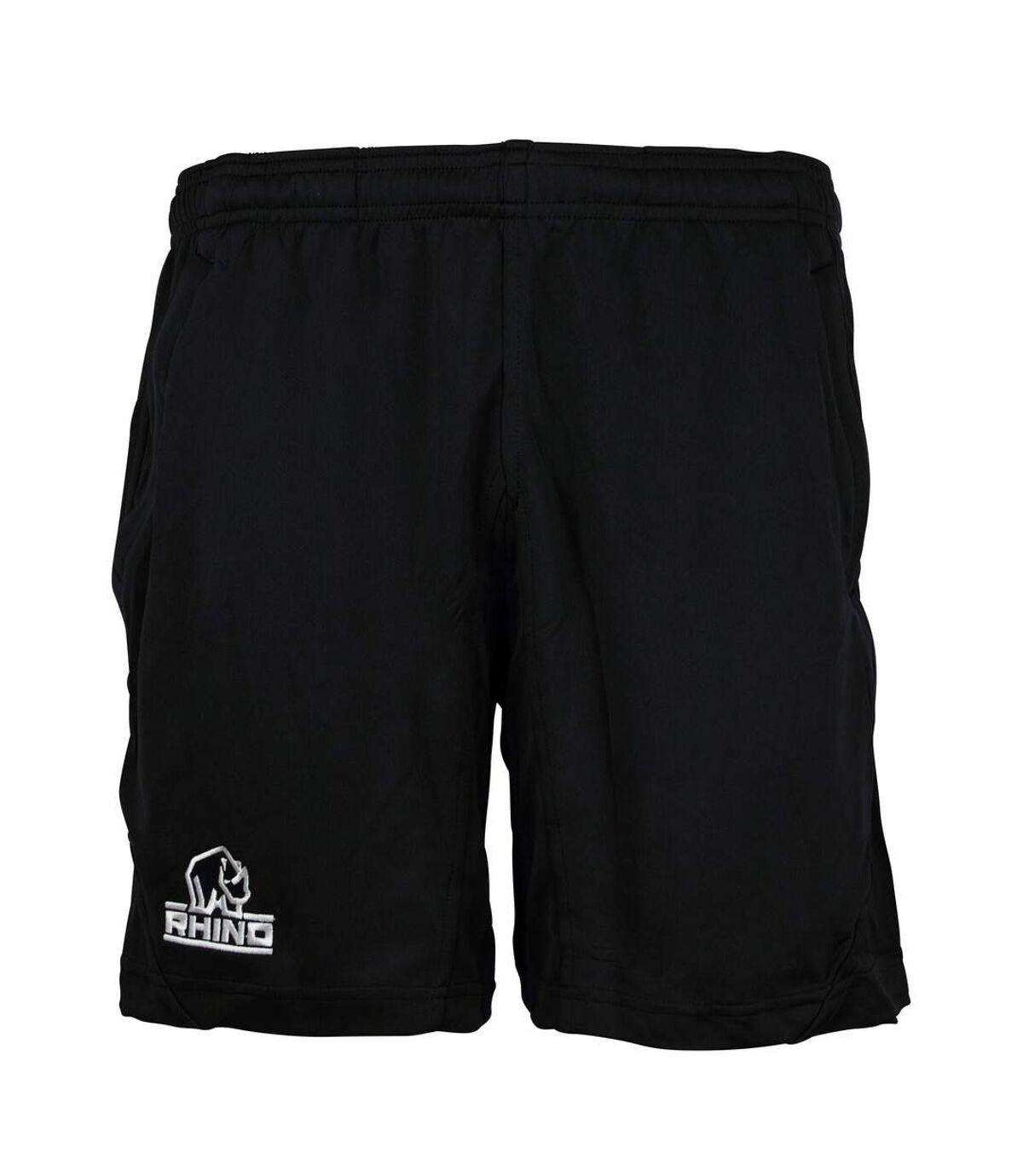 Rhino Mens Challenger Active Shorts (Black) - UTRW7671
