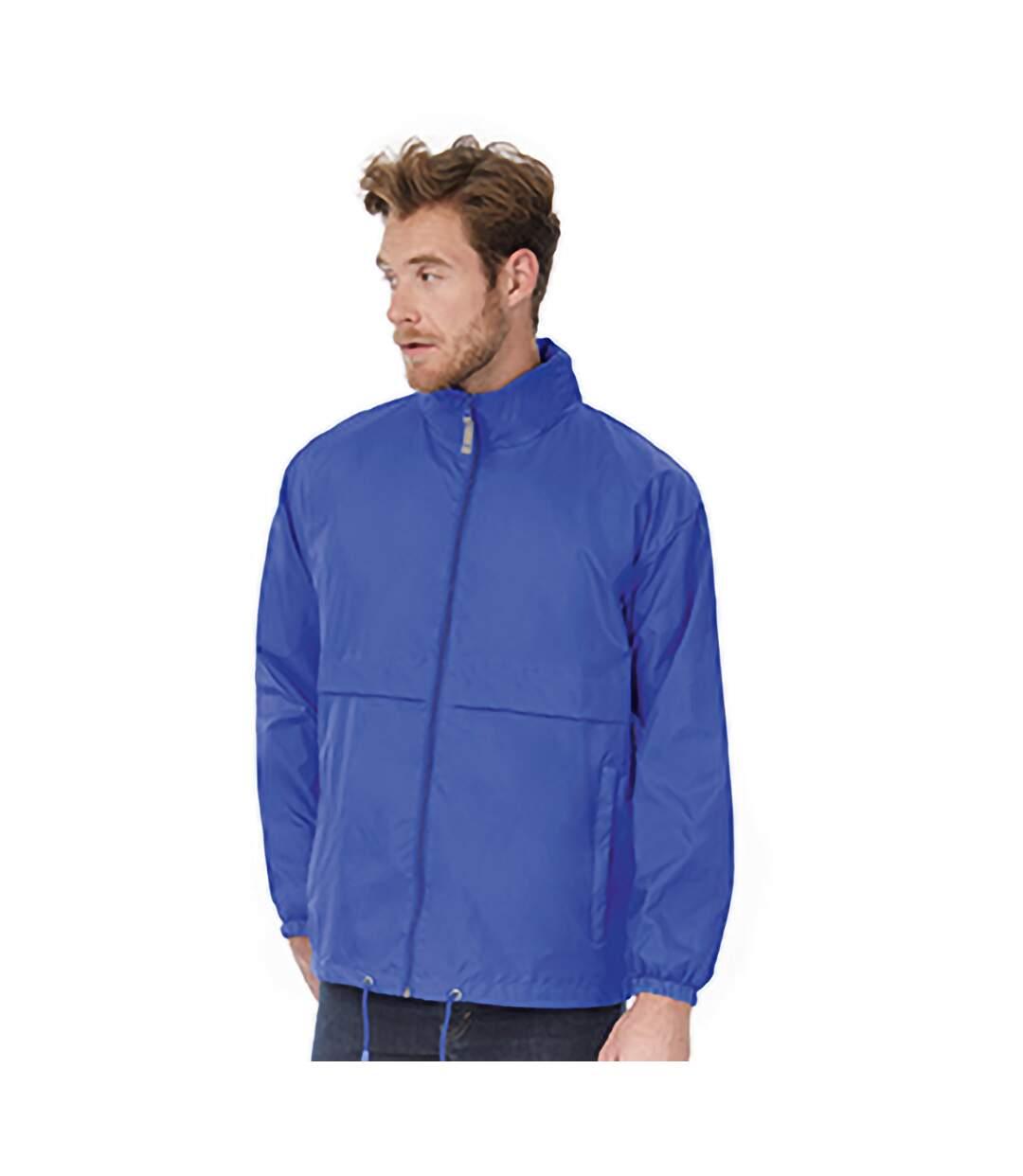 B&C Mens Air Lightweight Windproof, Showerproof & Water Repellent Jacket (Royal Blue) - UTBC1281