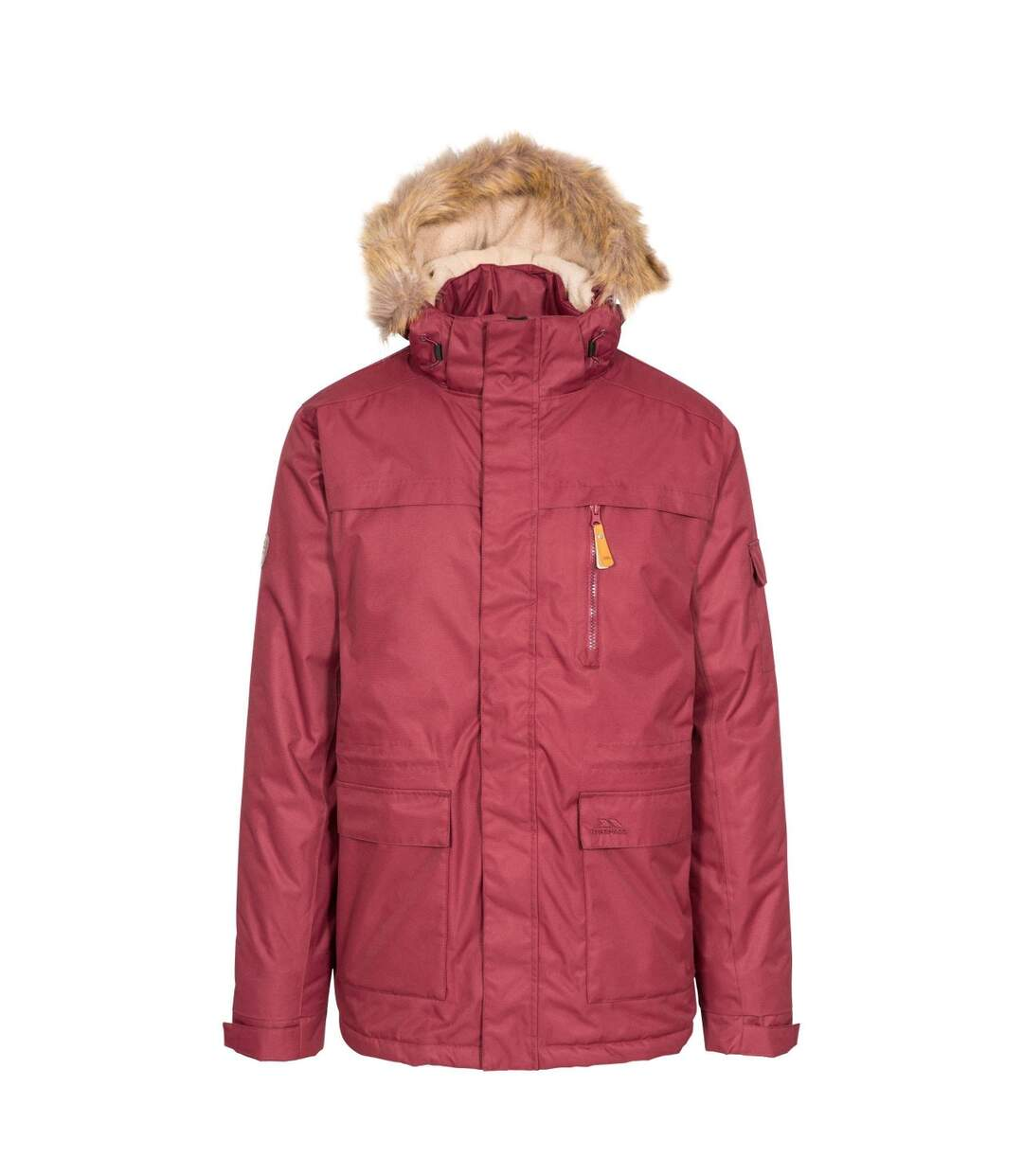 Trespass Mens Mount Bear Parka Jacket (Prune) - UTTP4513