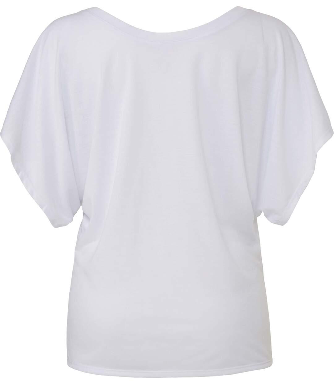 T-shirt fluide col rond