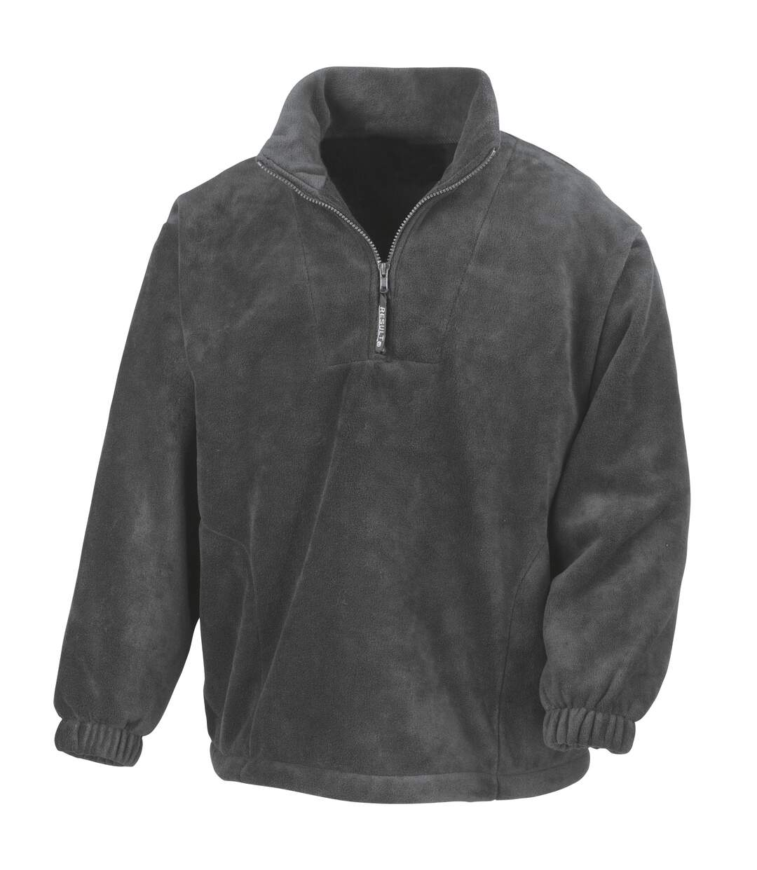 Result Unlined Active 1/4 Zip Anti-Pilling Fleece Top (Navy Blue) - UTBC920