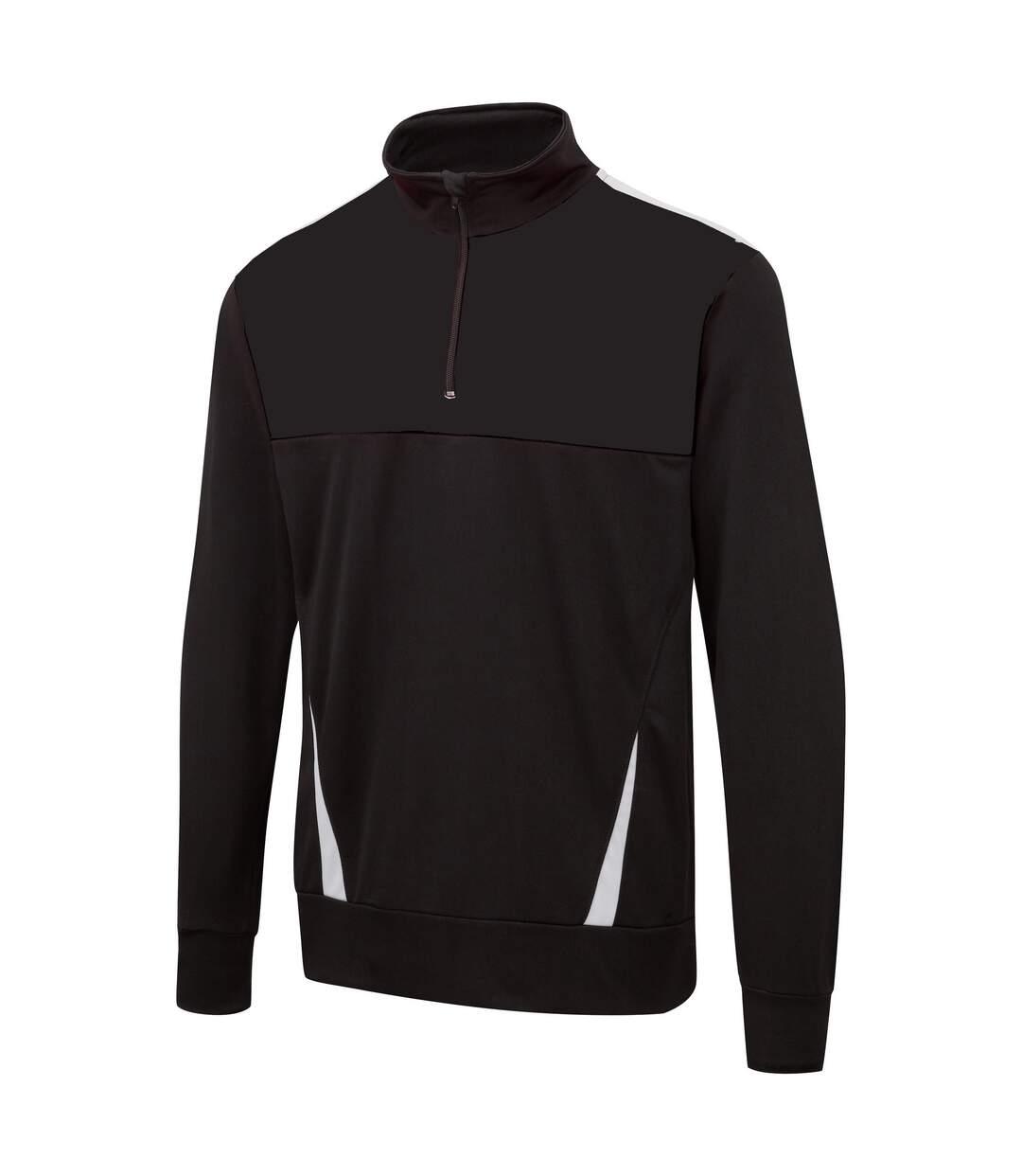 Surridge Blade - Haut sport à manches longues - Homme (Noir/Blanc) - UTRW4924