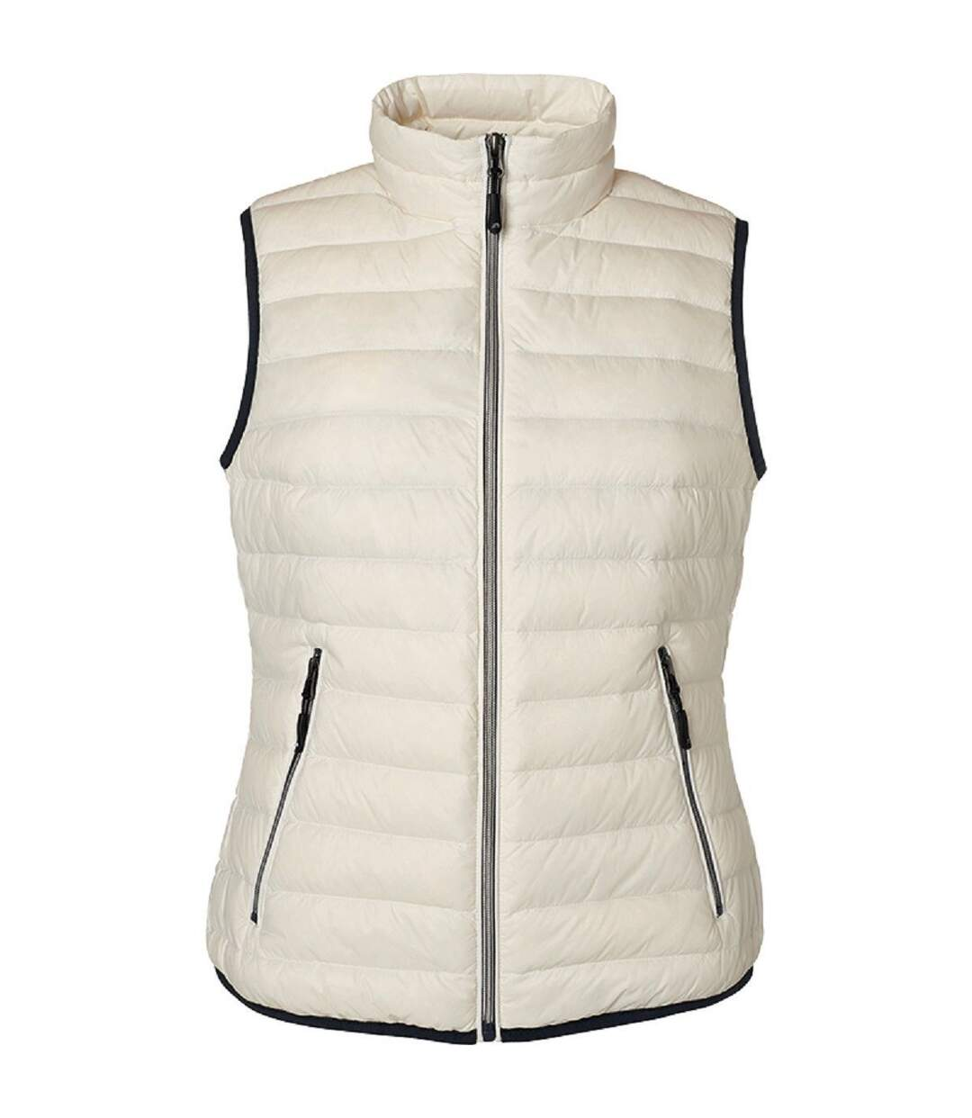 Bodywarmer duvet - JN1137 - blanc cassé - Femme