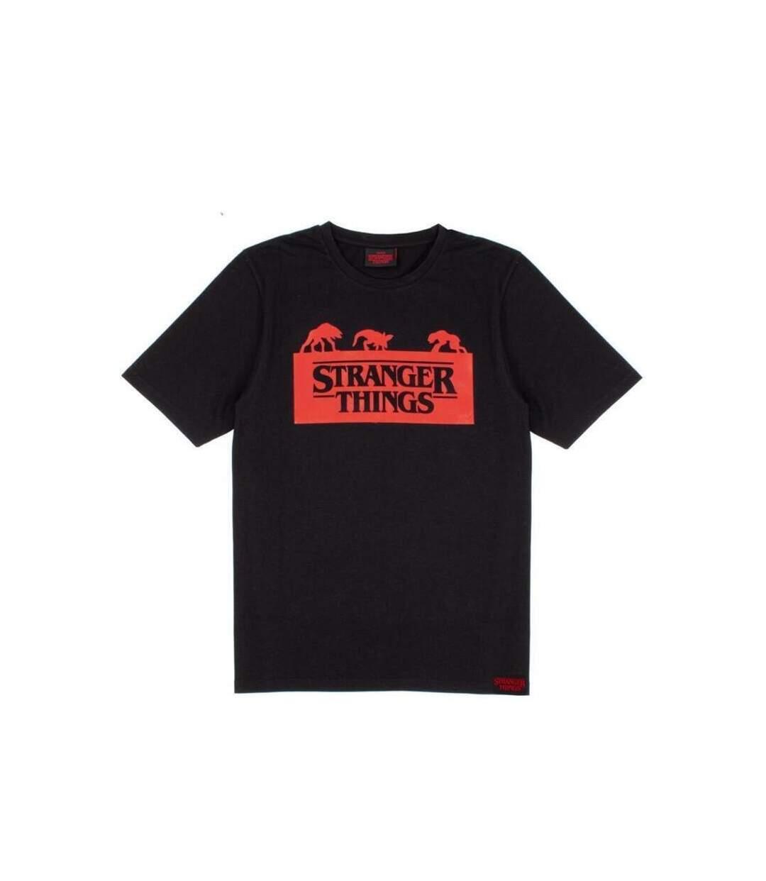 Stranger Things Mens Short Pyjama Set (Black/Red/Grey) - UTNS6019