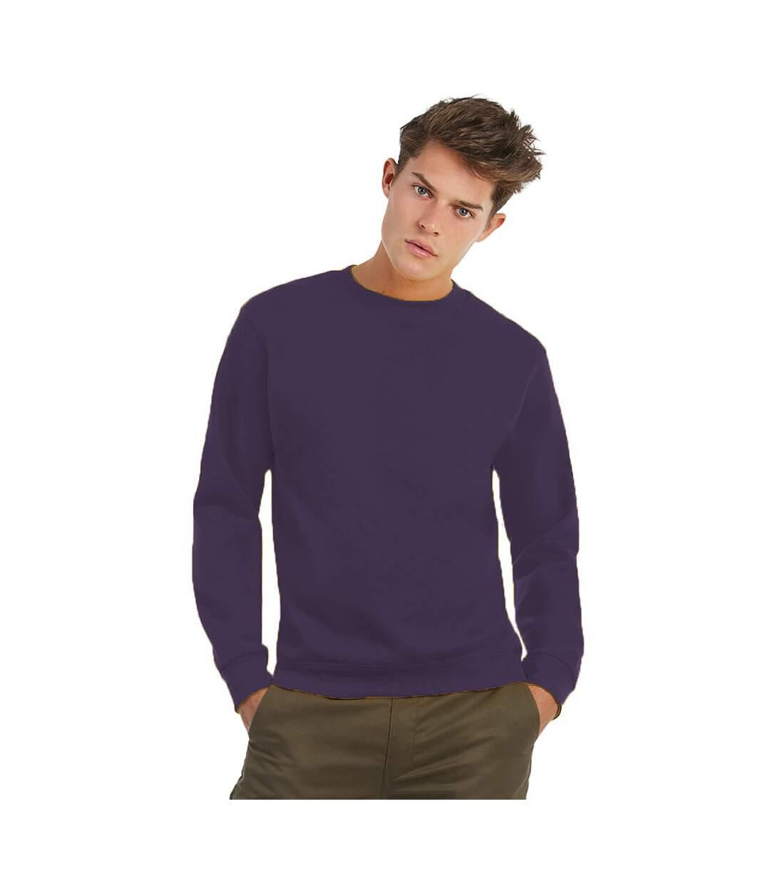 B&C Mens Crew Neck Sweatshirt Top (Millennial Lilac) - UTBC1297