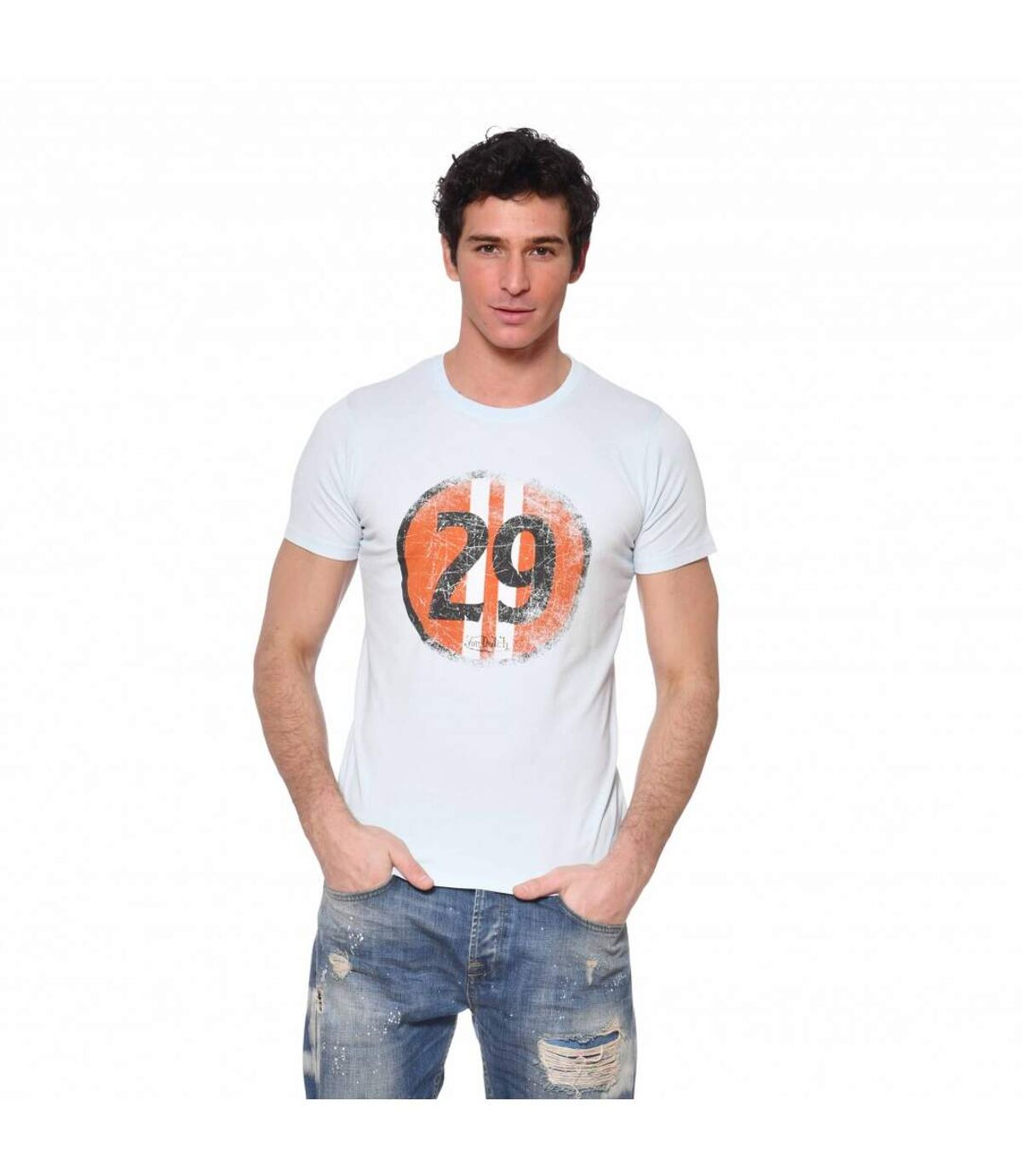 T-shirt col rond coton homme Stee
