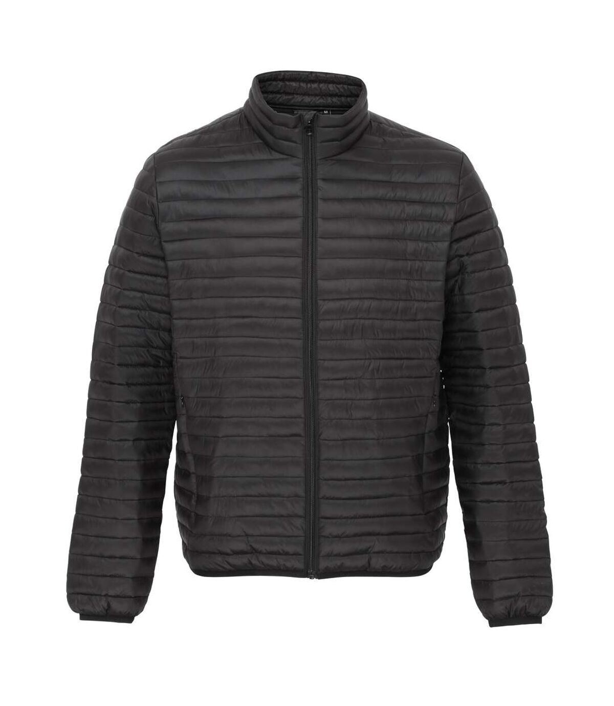 2786 Mens Tribe Fineline Padded Jacket (Black) - UTRW3846