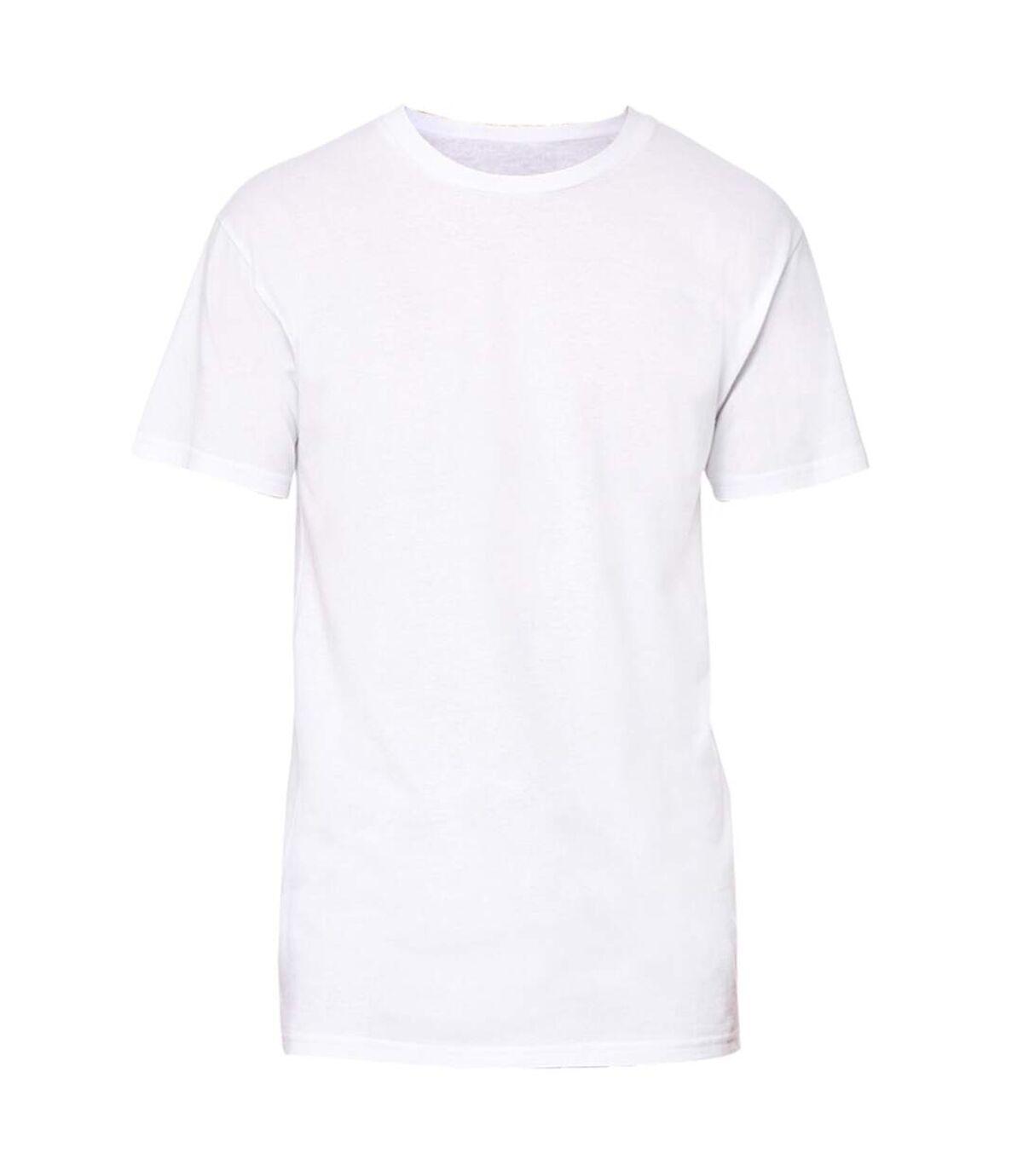 Bella + Canvas Mens Long Body Urban T-Shirt (White) - UTRW4914