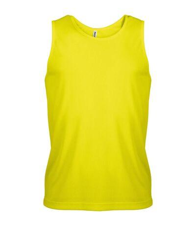 Kariban - Débardeur de sport - Homme (Vert citron) - UTRW2719