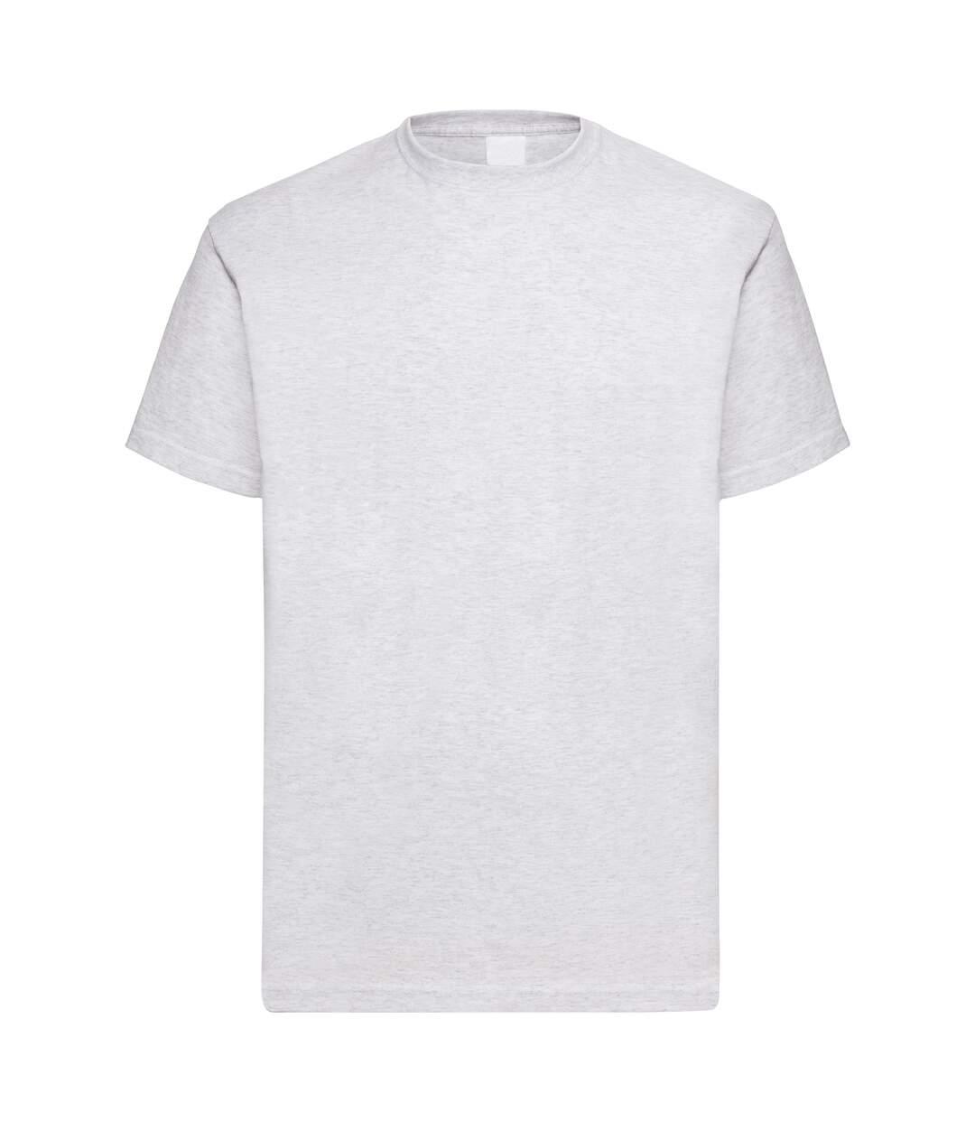 Mens Value Short Sleeve Casual T-Shirt (Ash) - UTBC3900