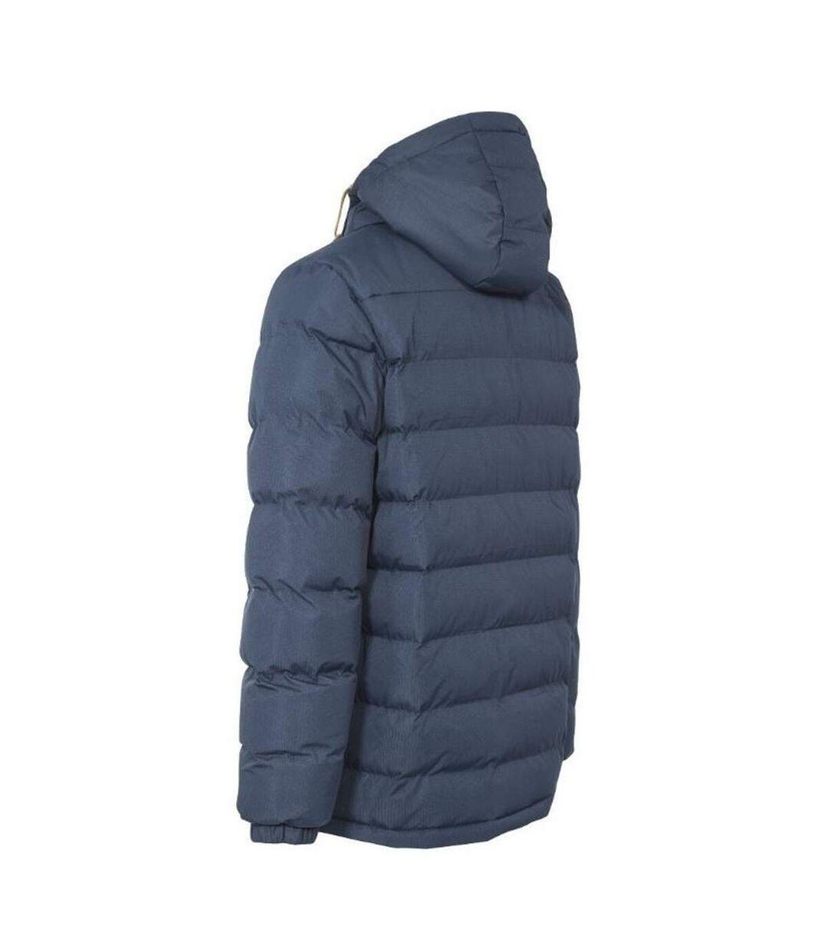 Trespass Mens Westmorland Padded Hooded Jacket (Navy) - UTTP4528