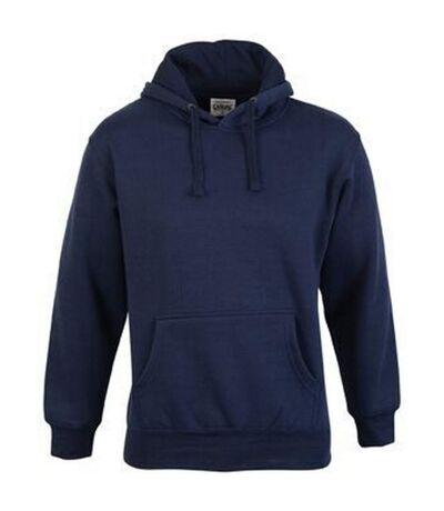 Casual Classic Mens Pullover Hood (Navy) - UTAB255