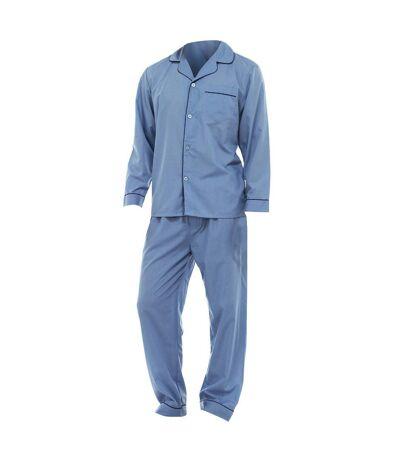 Pantalon et haut à manches longues de pyjama - Homme (Bleu) - UTN510