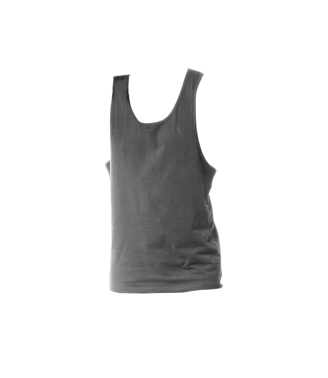Tanx Mens Vest Sleeveless Vest Top / Muscle Vest (Heather Grey) - UTRW2869
