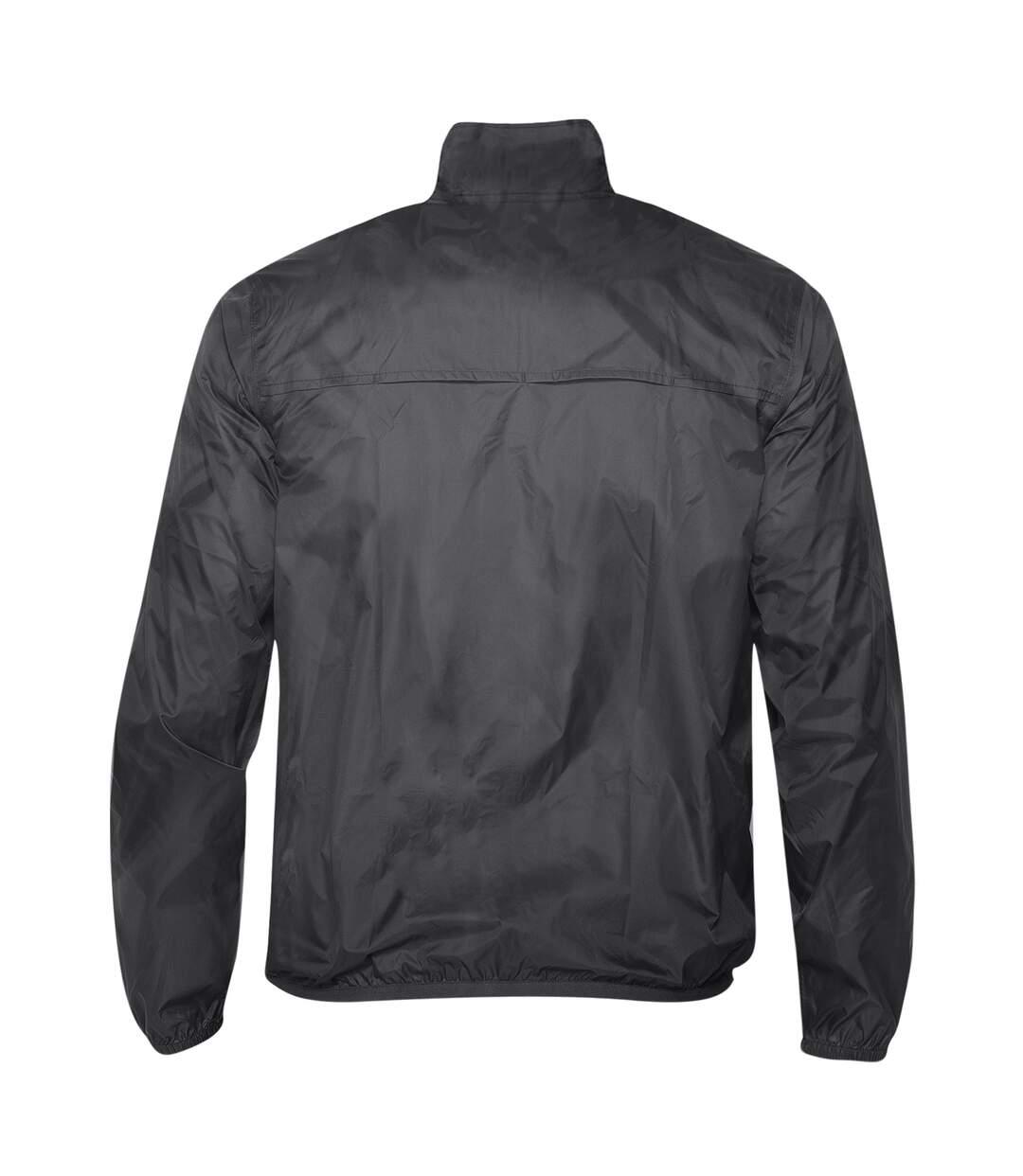 2786 Mens Contrast Lightweight Windcheater Shower Proof Jacket (Royal/ White) - UTRW2501