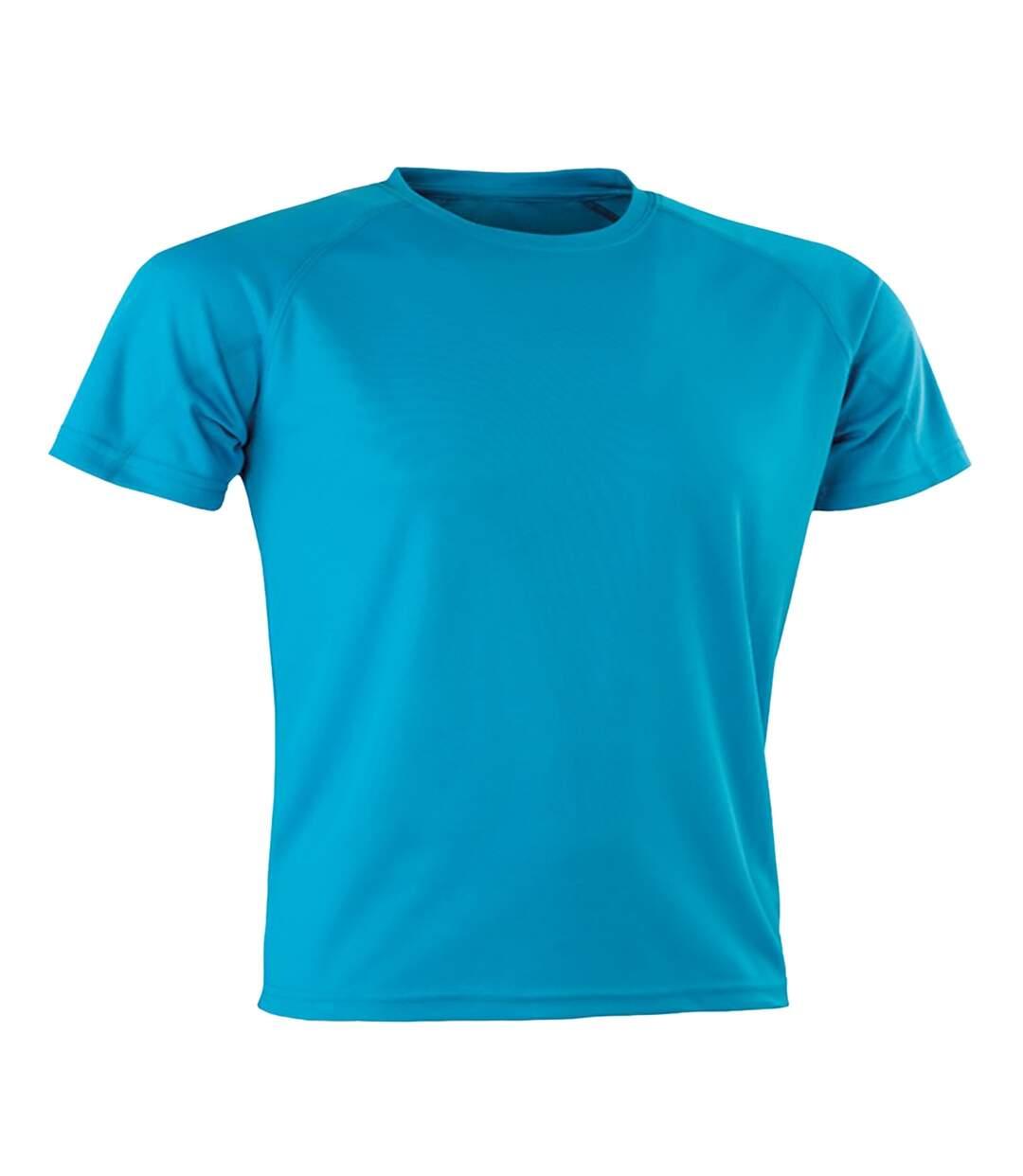Spiro Mens Aircool T-Shirt (Ocean Blue) - UTPC3166
